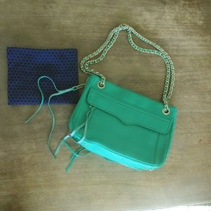 Rebecca Minkoff Green Handbag